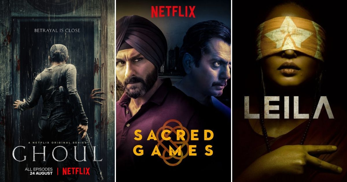 Netflix shows Sacred Games Leila others accused of promoting deeprooted Hinduphobia by Shiv Sena member