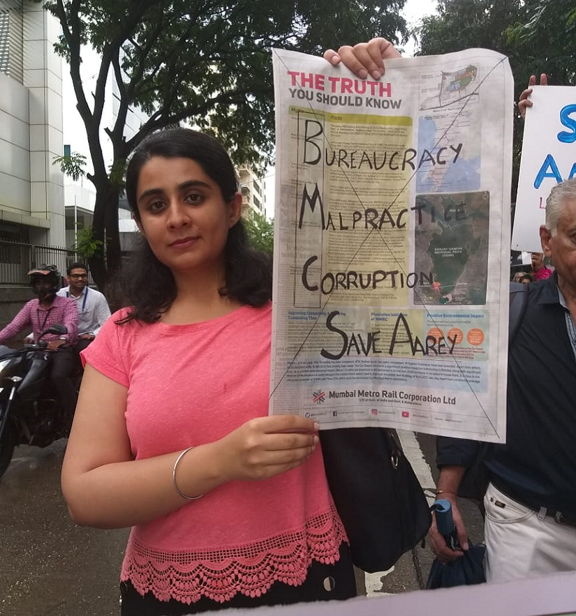 Factcheck on MMRCs claims over Aarey reveals gaping holes activists citizens protesting Metro3 shed slam govt for propaganda
