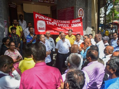 Bank strike Two major bank unions declare strike on 27 March against PSB mergers services likely to be hit
