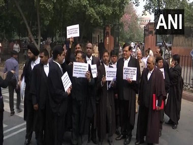 Two lawyers attempt suicide outside Delhis Rohini court Bar Council chief assures requisite action against guilty