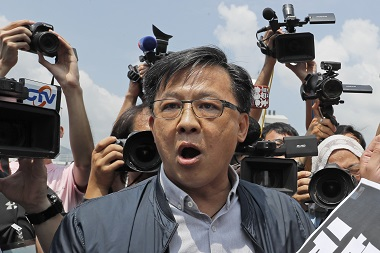 Hong Kong protests ProBeijing lawmaker Junius Ho stabbed while campaigning assailant arrested