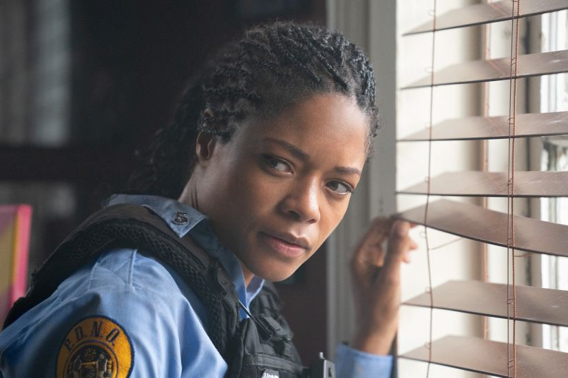 Black and Blue movie review Naomie Harris is torn between duty and community in this generic cop action thriller