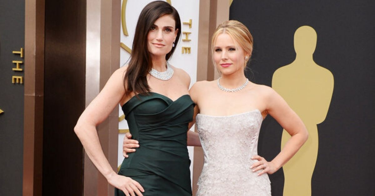 Frozen 2 actors Kristen Bell Idina Menzel receive stars on the Hollywood Walk of Fame