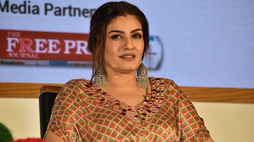 Raveena Tandon on complaint over hurting religious sentiment Not a word can be interpreted as an insult to any religion