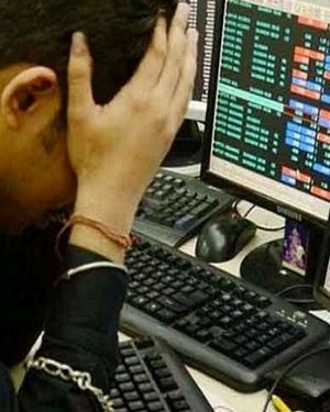 Sensex drops 260 points Nifty settles below 9050mark at close of trading session banking financial stocks drag