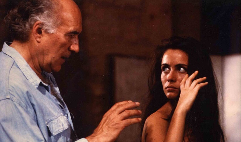 The late Michel Piccoli in the role of his lifetime as an artist in Jacques Rivettes 1991 masterpiece La Belle Noiseuse