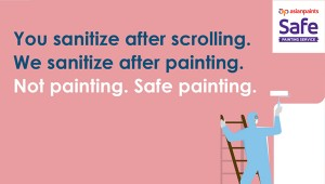 ASIAN PAINTS LETS YOU PAINT YOUR HOME WITHOUT COMPROMISING HEALTH AND SAFETY