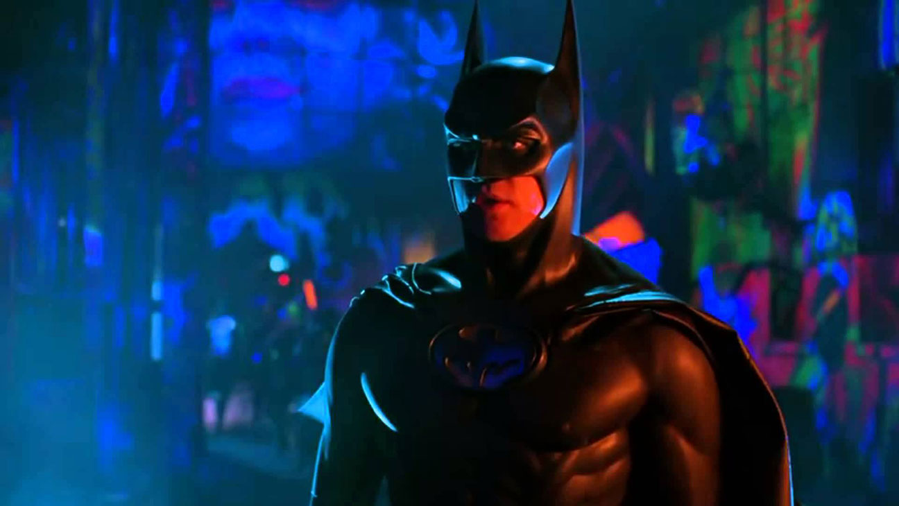 Joel Schumacher rescued Batman from Tim Burtons grimness with his signature campiness winking theatricality