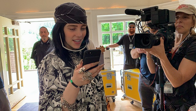 RJ Cutler opens up on studying Billie Eilish in Apple TV documentary It was a full meal from the start